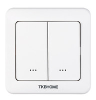 TKB Gen5 New Z- Wave dual relay wall switch for 2 separate lo...