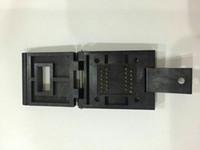 SOP24PIN IC TEST SOKET YAMAICHI IC51-0242-295-5 1.0 MM PITCH 6X8 MM YANIK SOKET