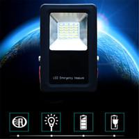 10PCS أحدث 3 وضع المحمولة المحمولة USB قابلة للشحن في حالات الطوارئ الصمام الكاشف مصباح الجدار بقعة ضوء مع ترايبود الطاقة بنسبة 18650