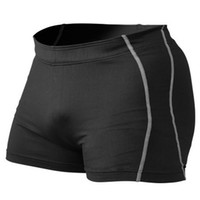 Sportswears Hombres Bodybuilding Shorts Fitness Spandex Workout 4