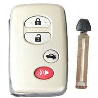 Garantiert 100% 4Button Remote Smart Key Auto Shell ungeschnitten fit für TOYOTA Avalon Camry Highlander RAV4 Kostenloser Versand