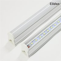 T5 Tubos LED Luces 4 pies 18-22W 2100lm AC85-265V Integrado PF0.95 96LEDs 2835SMD 5000K 5500K Lámparas fluorescentes directo de China de fábrica