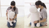 Venta al por mayor barato Park Bom Stuffed Cosplay Animals Plush Toy Cute Hippo Moomin Pillow Kids