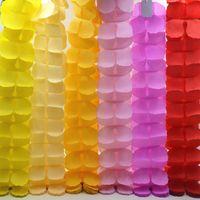 Kolorowe Cztery Liści Koniczyna Girlandy Girlandy Dla Domu Party Wedding / Baby Shower / Kids Birthday Party Festival Decoration ZA3036