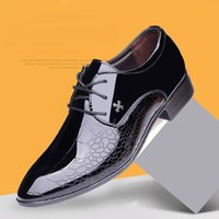 Designer Luxury Brand Oxfords Shoes For Men Dress Shoes Pate...