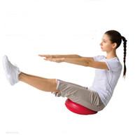 الجملة الجديدة اليوغا التوازن التوازن متن الصالة الرياضية ممارسة تمايل الكاحل وسادة الهواء وسادة alancing تدليك الكرة
