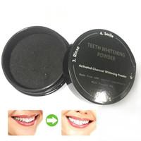1 Pc Teeth Whitening Powder Carvão Ativado Dentes Branqueamento Em Pó Manchas de fumar Remoção Oral Care Creme Dental Z3