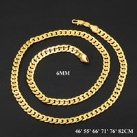 "Mew Luxury Chain Necklace Fashion Men Jewelry "" 18K&quot..."