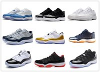 Classic 11 Low basketball shoes sneakers 11s barons black Wh...