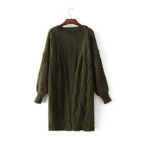 High Quality Winter New Knit Cardigans for Women Fried Dough...