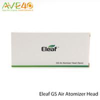 Головка распылителя Eleaf GS из чистого хлопка Головка 1,2 Ом 0,75 Ом Запасная катушка Подходит для распылителя GS Air Распылитель GS Air 2 для iStick Basic Kit