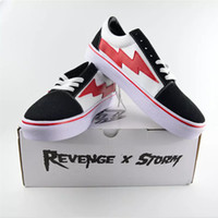 Yezee Stylist Ian Connors Revenge X Storm Sneakers kanye west calabasas Zapatos casuales Hombre Mujer Zapatos Cuatro colores EUR36-44