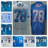 ... Wholesale 2017 Throwback 9 Steve McNair Jersey Cheap 1 Warren Moon 34  Earl Campbell 74 Bruce ... d1d9bd3f2