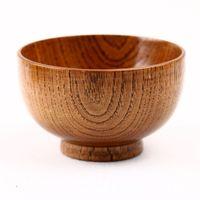도매 상품 나무 옻칠 옻칠 그릇 대추 나무는 환경 보호의 다양한 크기에서 사용할 수