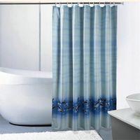 Großhandels Blau Badezimmer Curtian Polyester Delphin Meer Duschvorhang  Badvorhang Verdicken Wasserdicht Angepasst Duschvorhänge Mit Haken