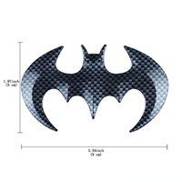 هارلي الأسود بات ألياف الكربون 3D ذاتية اللصق الشعار ملصق هارلي سيارة شخصية الشارة