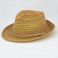 솜브레로 여성 여름 모자 여자 다채로운 짚 sunhats 재즈 모자 여자를위한 해변 모자, chapeu feminino chapeau de paille femme