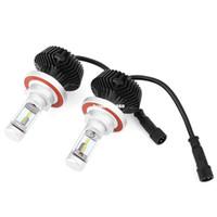 한 쌍의 9008 H13 / H8 H9 H11 / H7 / H4 HB2 9003/9005 9006/9004 9007Car LED 헤드 라이트 6500K 방수 60W 밝은 차량용 램프