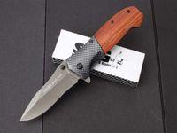 جمع sog FA16 الزعنفة التيتانيوم التكتيكي الطي سكين 5cr13mov 57hrc المشي أدوات الصيد بقاء الجيب سكين فائدة edc