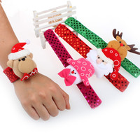 New children Sequin Christmas wristband cartoon Christmas de...