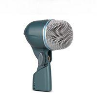 Kostenloser Versand Neu verpackt BETA52 Vocal Instrument Kick Drum Bass Mikrofon Professionelle Soundsystem kein Schalter 52A