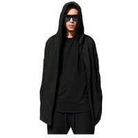 Hot Sale Men Hip Hop Hooded Hoodies Solid Long Sleeve Casual...