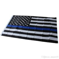 2017 DHL Free Blue Line USA Flags 3 By 5 Foot Thin Red Line ...