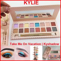 In stock Kylie Jenner 16color Eyeshadow palette with Brush K...