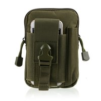 outdoor sports molle waist pack fanny phone pouch belt bag E...