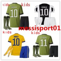 17 18 kids home away third soccer Jersey kids Kit 2017 MARCH...