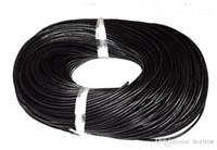 h241 хороший 1.5 мм горячий лучший кофе черный Бесплатная доставка подлинная круглая 100% корова натуральная кожа ювелирные изделия шнур строка для браслета ожерелье