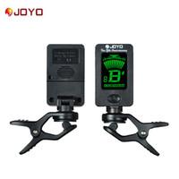 JOYO JT-01 хроматических Clip-On Digital Тюнер 360 градусов Поворотный машины гитары Тюнеры для гитары бас скрипки Ukulele