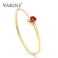 Volo può aprire braccialetti di polsini cristallini brillanti per le donne gioielli in acciaio inox color oro braccialetti braccialetti braccialetti femminili pulsane