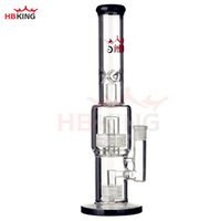 HBking k14 water glass pipe heady bong pyrex inline diffused...