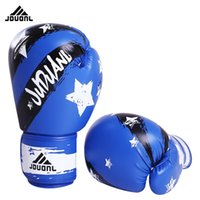 10OZ PU Boxing Gloves Fighting Sports Wearable Breathable Fo...