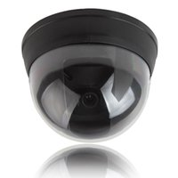 Piccola telecamera di sicurezza Dummy Simulated Dome con LED rosso Activity CCT_704