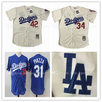 Retro Los Angeles Dodgers stitched Jersey Jackie Robinson 42...