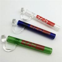 Mini Steamrollers Labs Kleine Hand Wasserpfeife Hochwertige Pfeifen Multi Farbe Glas Ölbrenner Shisha Mini Räucherschüssel Bongs