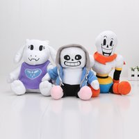 3pcs lot New Arrival 22cm - 27CM Undertale plush Papyrus Und...