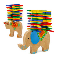 Wholesale Baby Toys Educational Elephant Camel Balancing Blo...