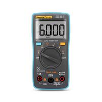 Zotek ZT101 Numérique Multimètre 6000 Nombre de ruptures AC / DC Ammètre Voltmètre Température de la diode de fréquence OHM