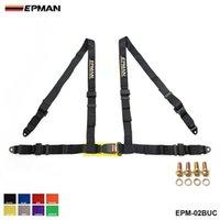 """EPMAN-Sicherheitsgurte Stilwettbewerb 4-Punkt-Snap-in 2 """"Sicherheitsgurt Racing-Kabelbaum Sicherheitsgurt Sitze-Harness EPM-02BUC"""