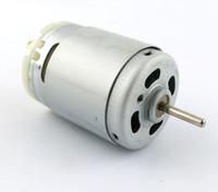 385 motor padrão, modelo de DIY, moitor da CC de 6VDC Micro, motor da CC R385