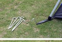 야외 캠프 도구 하이킹 티타늄 스파이크 캠핑 텐트 페그 풍선 수면 가방 스테이크 네일 야외 기어 도구