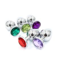 متوسطة الحجم المعادن شرجي التوصيل روزبود مجوهرات بوت المقابس الفضة إدراج المقاوم للصدأ الشرج الجنس لعب للأزواج