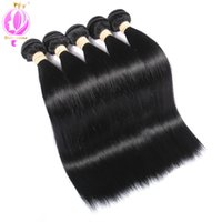 Top quality Brazilian Virgin Hair Straight Human Hair 5 Bund...
