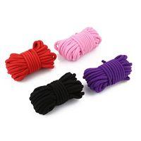 32 pies de largo 10m algodón SM Cuerda Bondage Juegos de rol Kit adultos Suministros 4 colores productos del sexo