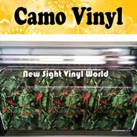 Real Tree Camo Vinyl Wrap Sheet Musculoso Roble Gráficos Realtree Camuflaje Vinilo Carrocería de la carrocería para camiones Jeep