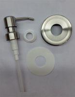 100 Sets DIY Weckglas Seifenspender Lids Pumpe 304 Edelstahldeckel für flüssige Lotion-Pumpe - Jar nicht inklusive