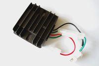 AVR 4 teller 178F 186F için yeni tip Dizel ücretsiz posta 5KW otomatik voltaj regülatörü yangın pumper şarj ayarlayıcı sabitleyici